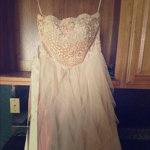 Gorgeous long dress.